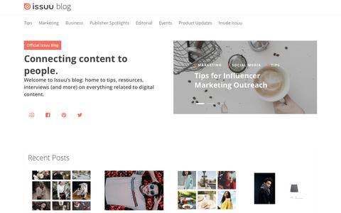 Issuu Blog – Issuu Blog