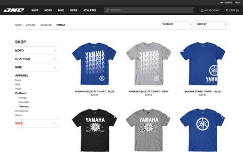 Yamaha - Co-Brand - Apparel