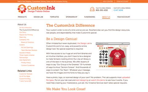 The CustomInk Difference - What Sets Us Apart