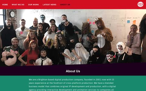 Screenshot of About Page pluginmedia.net - ABOUT US – Plug-In Media Limited - captured Dec. 15, 2018