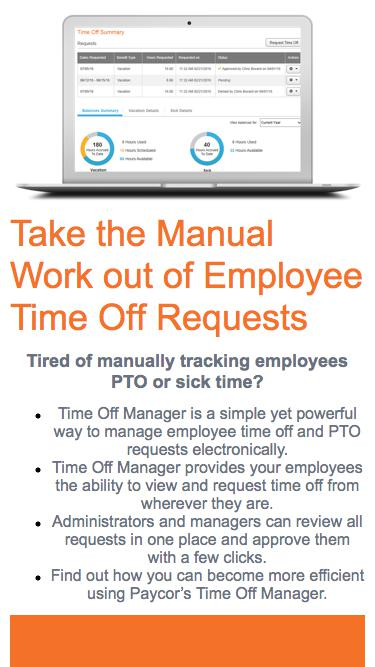 Learn more about Time Off Manager