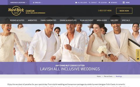 Cancun Wedding Venues - Beautiful Mexican Beach Weddings