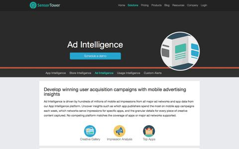 Ad Intelligence | Insights into advertising