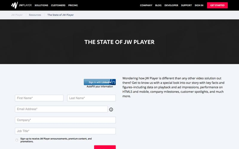 JW Player | Competitive Intelligence and Insights | Crayon
