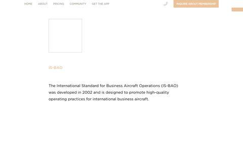 IS-BAO   JetSmarter