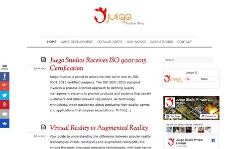Juego Studios Blog - Mobile Game Development Company