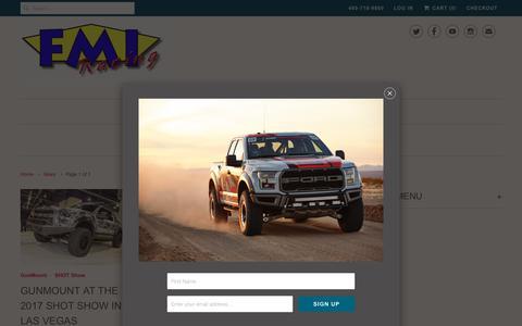 Screenshot of Press Page foutzmotorsports.com - News- Foutz Motorsports - Foutz Motorsports LLC - captured Aug. 21, 2018