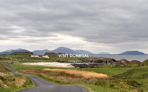 Screenshot of Home Page visitdonegal.net - Visit Donegal Ireland - Events, Places to Stay, Eat and Explore - captured Jan. 25, 2017