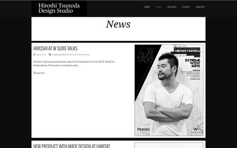 Screenshot of Press Page hiroshitsunoda.com - HTDS - captured Oct. 2, 2014