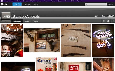 Screenshot of Flickr Page flickr.com - Flickr: Brand X Concepts' Photostream - captured Oct. 23, 2014
