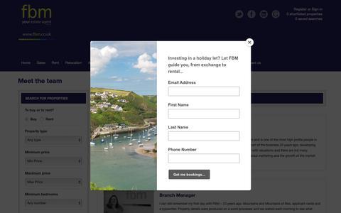 Screenshot of Team Page fbm.co.uk - fbm staff list - captured Oct. 22, 2018