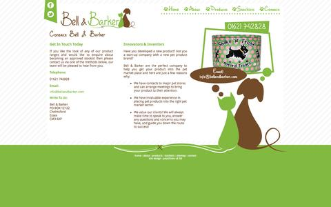 Screenshot of Contact Page bellandbarker.com - Contact | Bell & Barker - captured Oct. 5, 2014