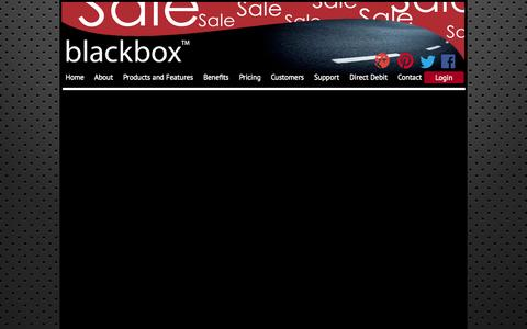 Screenshot of Pricing Page blackbox-tracking.com - Red Sky Telematics - Pricing - captured Oct. 7, 2014