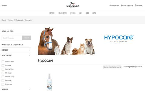 Hypocare Archives - Horseware Ireland