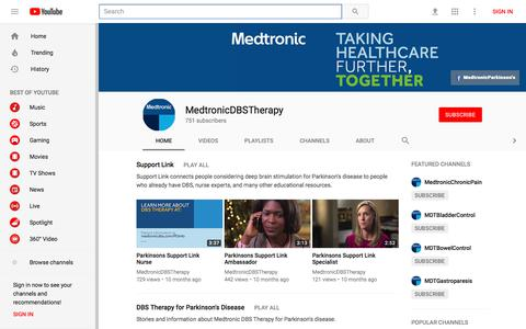 MedtronicDBSTherapy - YouTube - YouTube
