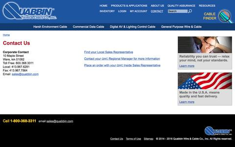Manufacturing Contact Pages on Drupal | Website Inspiration and ...