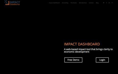 Impact DashBoard - Impact DataSource