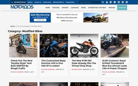 Modified Bikes | Motoroids