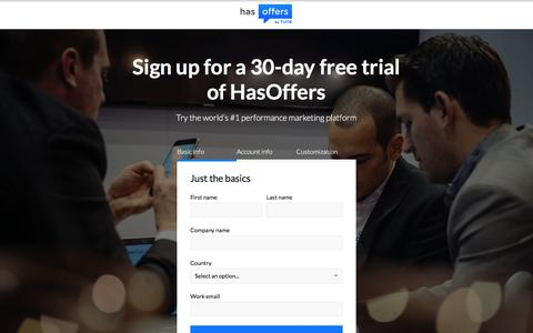 HasOffers Performance Marketing Software - Free for 30 Days