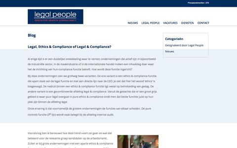 Blog - Legal People - Executive Search Consultancy