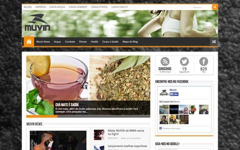 MUVIN BLOG - Conteúdo sobre esportes, fitness e saúde produzidos pela empresa MUVIN