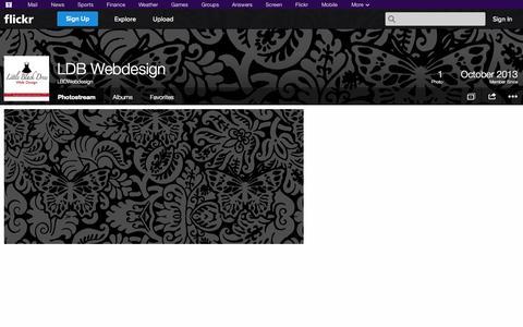 Screenshot of Flickr Page flickr.com - Flickr: LBDWebdesign's Photostream - captured Oct. 22, 2014