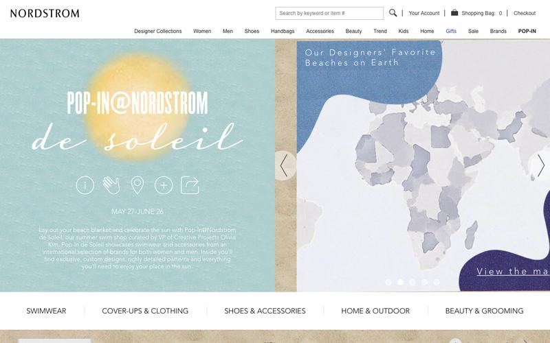 Screenshot Pop-In Shop | Nordstrom | Nordstrom