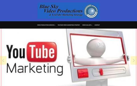 Screenshot of Blog bsvp.com - Blue Sky Video ProductionsPodcast Series: BSVP On-Site Archives - Blue Sky Video Productions - captured Sept. 26, 2015