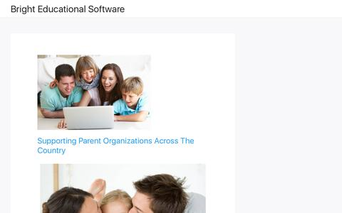 Bright Educational Software – Supporting Parent Organizations Around The Country