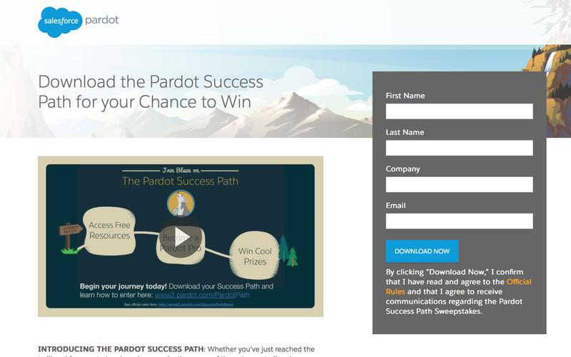Download your Pardot Success Path and Complete to Play