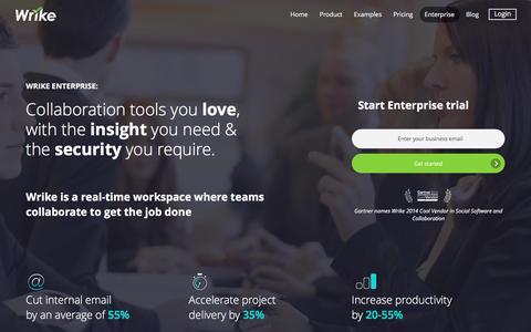 Wrike - Enterprise Project Management