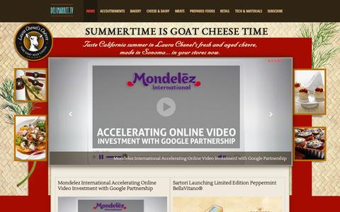 Screenshot of Home Page Press Page delimarket.tv - DeliMarket TV | delimarket.tv - captured Oct. 5, 2014