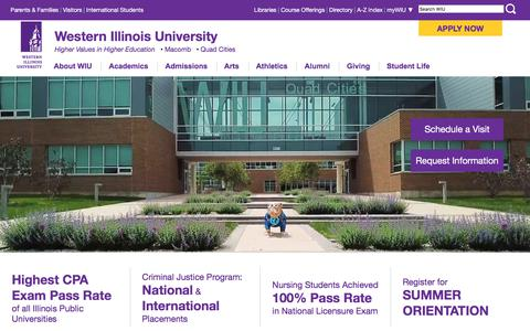 WIU - The Right Choice for Your Success  - Western Illinois University