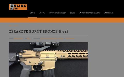 Screenshot of Services Page onlingguns.com - Services Archives - Onling GunsOnling Guns - captured Dec. 17, 2016