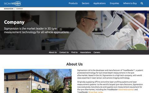 Screenshot of Jobs Page sigmavision.com - Company - Sigmavision - captured Dec. 6, 2016