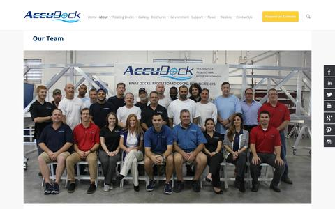 Our Team  | Floating Boat Docks And Swimming Platforms