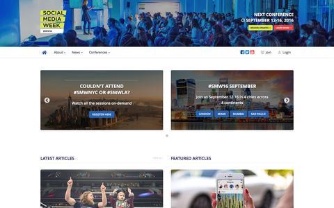 Social Media Week - Reimagining Human Connectivity