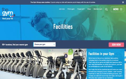 On-Site Facilities At The Gym | The Gym Group