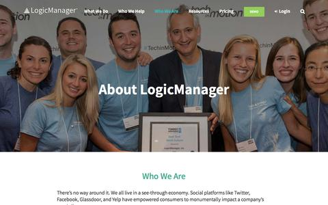 About LogicManager, Inc.