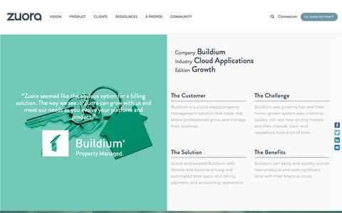 Screenshot of Case Studies Page zuora.com - Buildium Case Study - Zuora - captured Sept. 11, 2017