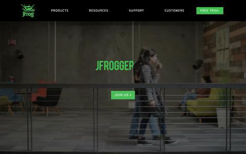 JFrog Career site