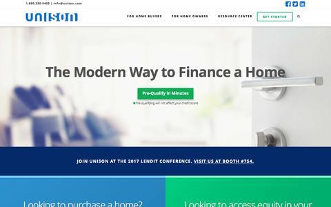 Unison Home Ownership Investments   Unison HomeBuyer & HomeOwner