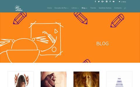 Screenshot of Blog nuevahumanidad.org - Blog   Nueva Humanidad - captured Oct. 5, 2017