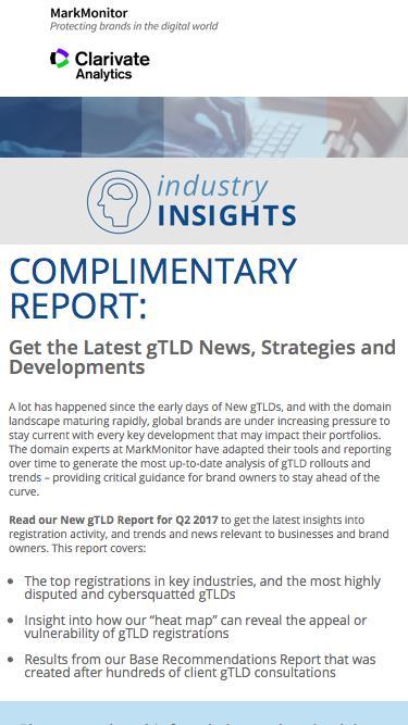 MarkMonitor Industry Insights