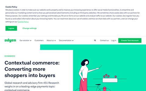 Screenshot of Blog adyen.com - Adyen - Adyen - captured July 3, 2019