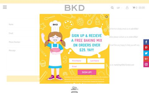 Screenshot of Contact Page bkd-london.com - Contact Us – BKD - captured Oct. 4, 2018