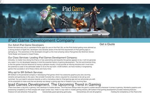 iPad Game Development Company India | Hire iPad Game Developers