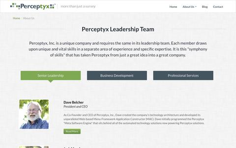 Leadership Team | Perceptyx - Know Now
