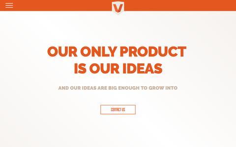 Screenshot of Home Page viaforge.com - Web Design Columbus Ohio | Digital Agency | ViaForge - captured June 24, 2016