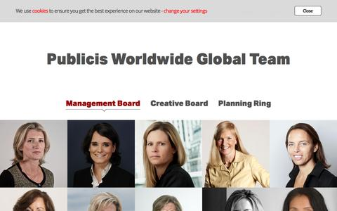 Publicis Worldwide | People
